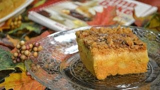 Pumpkin Pie Crunch Recipe (video) - Dump Cake | Radacutlery.com
