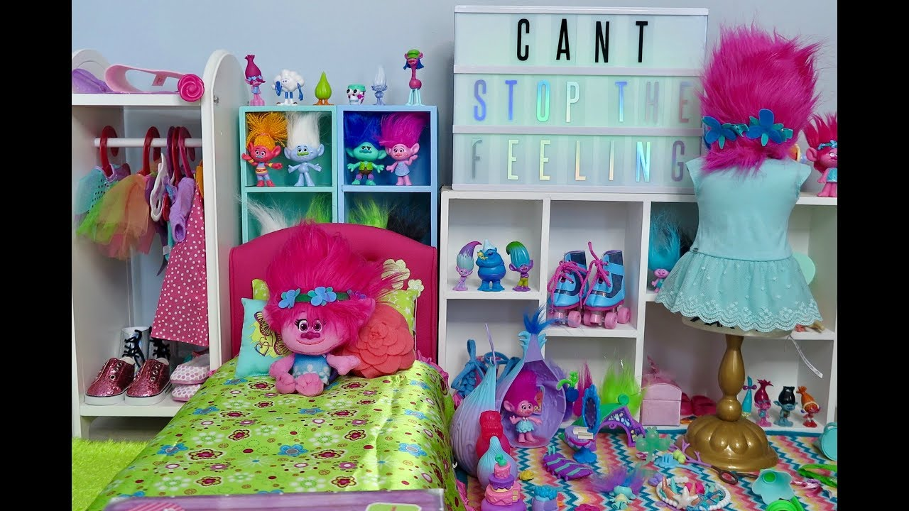 american girl doll trolls bedroom youtube 14010 | maxresdefault