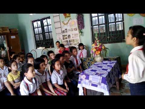 Sinh Hoạt Sao Nhi Đồng - Trường Tiểu Học Đồng Tĩnh B.
