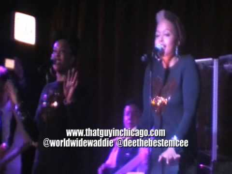 "Chrisette Michele Performs ""Audrey Hepburn: The Mixtape"" At The Shrine (Chicago)"