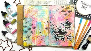 Art Journal Play (Yummy Colors!)