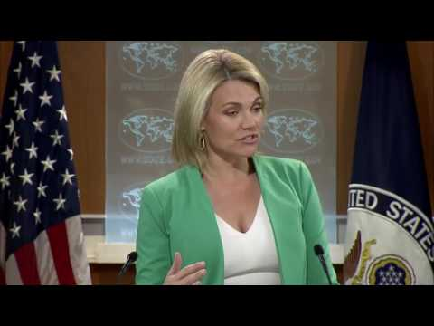 Heather Nauert State Department Press Briefing North Korea & China, Donald Trump Jr Russia 20 July