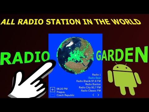 RADIO GARDEN LIVE : ALL RADIO STATION IN THE WORLD