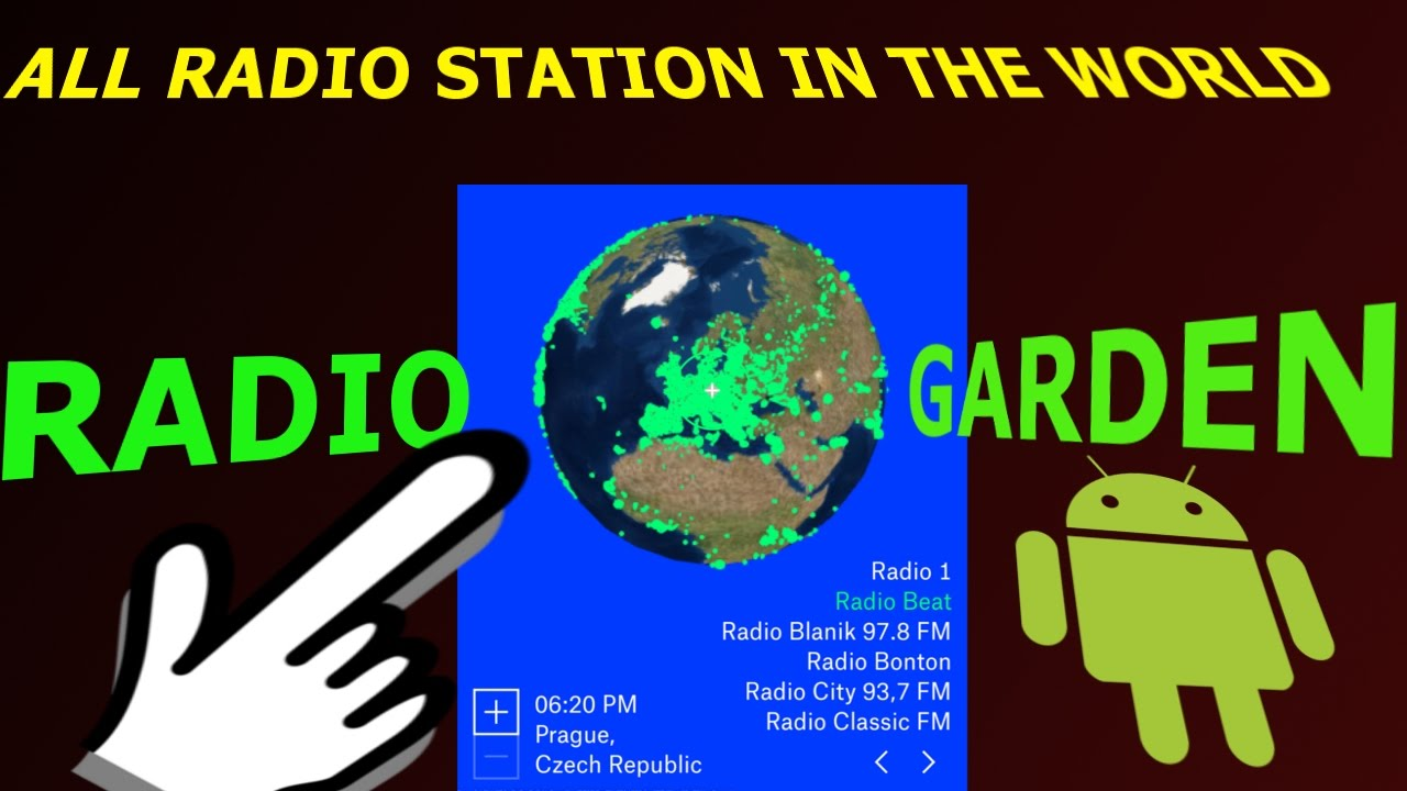 Wonderful RADIO GARDEN LIVE : ALL RADIO STATION IN THE WORLD