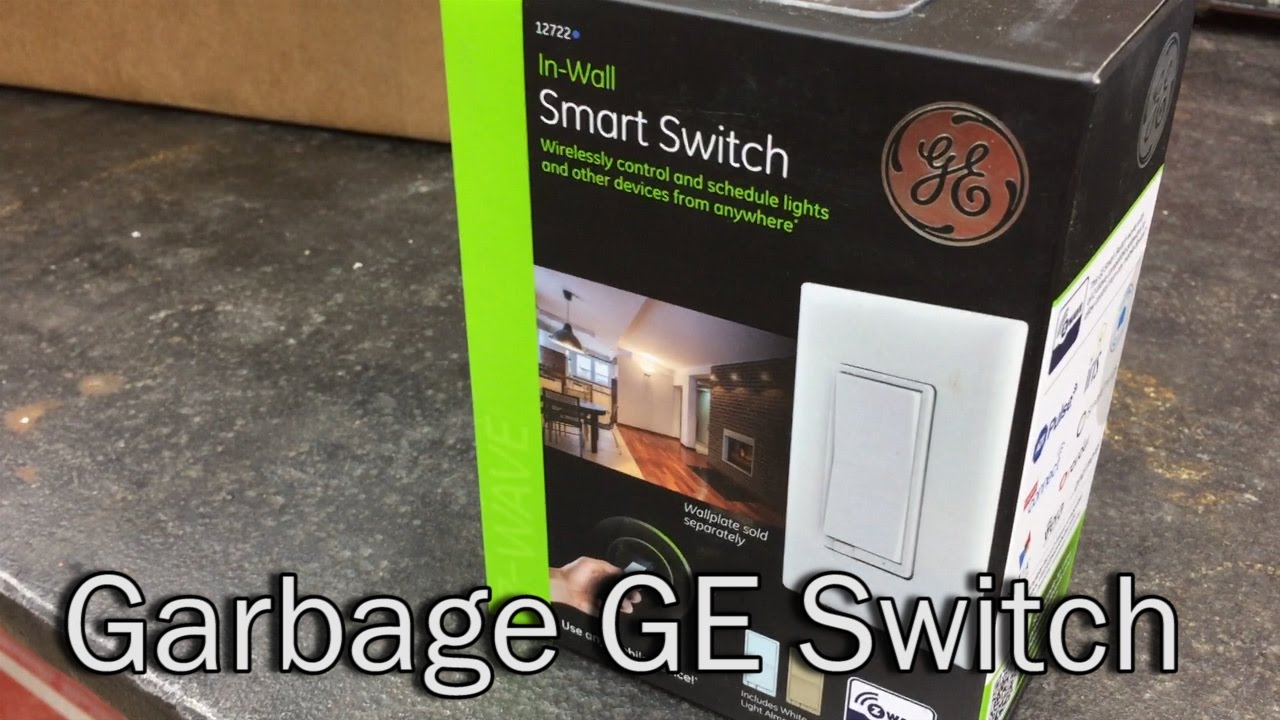 Ge Smart Switch Blinking Is It Posessed Youtube 3 Way Flickering