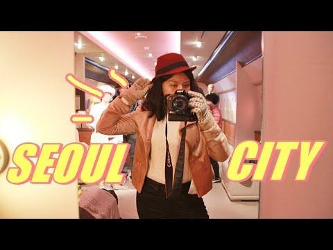 VLOGMAS: Korean Supermarket Shopping (LOTTE DUTY FREE) + Grevin Museum! | Love, Julienne