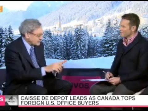 Michael Sabia interview with Bloomberg TV (Davos, 20/1/2016 ...