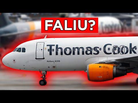 A CIA AÉREA THOMAS COOK FALIU? | Aerocast
