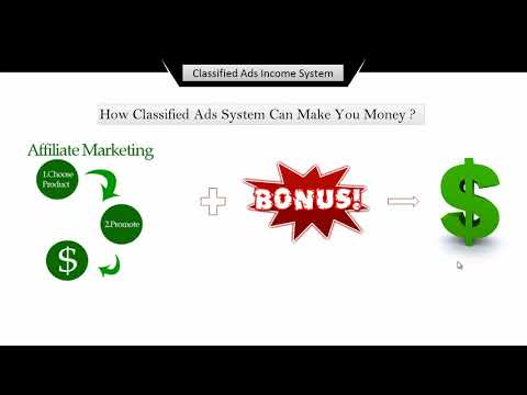 Online Affiliate Marketing: Guide to Posting Classified Ads : Objectives of this course