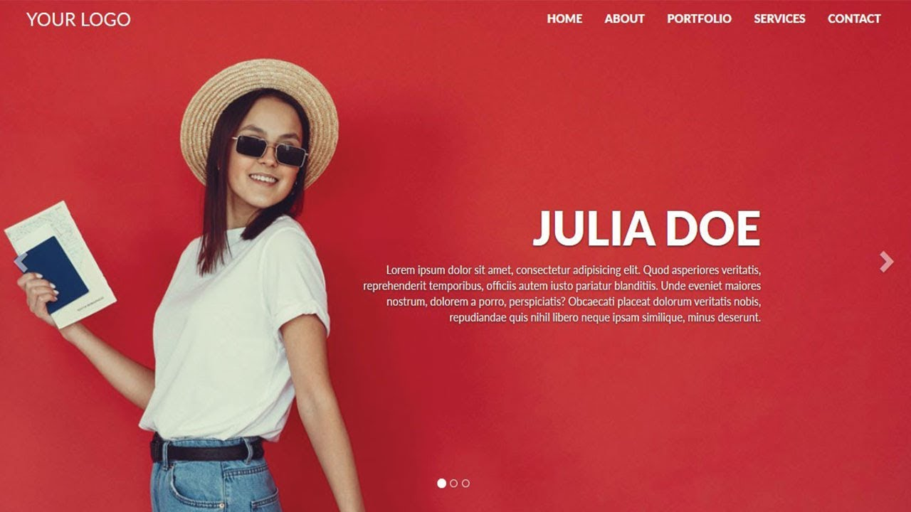 How to Create a Website using HTML CSS and Bootstrap