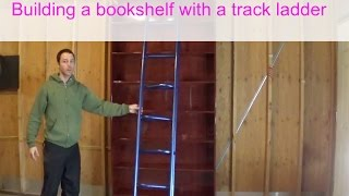 Building The Bookshelf With Led Ladder