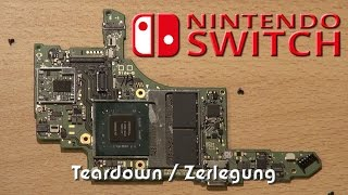 Nintendo Switch Zerlegung / Teardown / Disassembly Tutorial & Reassembly 🔧