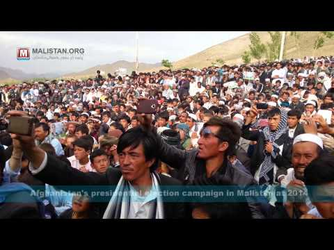 Afghanistan's presidential election in Malistan