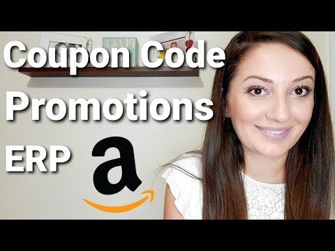 How to create Coupon Code, Promotions and ERP   Amazon FBA for beginners in 2020
