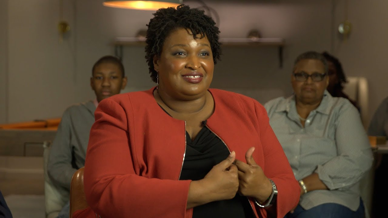 Stacey Abrams Talks African American Men's Health and Health Activism