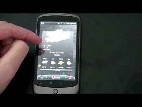 HTC Sense on the Nexus One (Desire ROM)