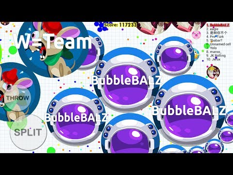 Blob.io Mobile | GREATEST DOUBLESPLIT EVER ON MOBILE!?! CRAZY POPSPLITS DESTRUCTIONS In Blob.io