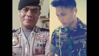 POLRI vs TNI AD 月亮代表我的心 Yue liang dai biao wo de xin