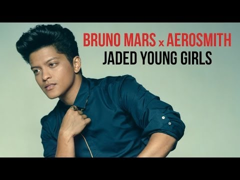 Pop  Rock Bruno Mars, Aerosmith  Jaded Young Girls Mashup