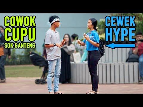 PRANK COWOK CUPU SOK GANTENG - DAPETIN CEWEK2 HYPE | Prank Indonesia