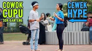COWOK CUPU SOK GANTENG - DAPETIN CEWEK2 HYPE | Prank Indonesia