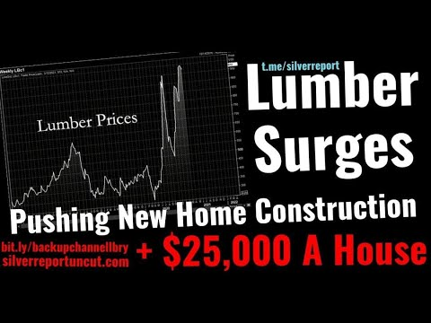 lumber Price hyperinflation Pushes The Cost Of New Home Construction Up $25,000, Home Prices Surge!