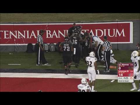 Arkansas State vs. Louisiana-Monroe 2016