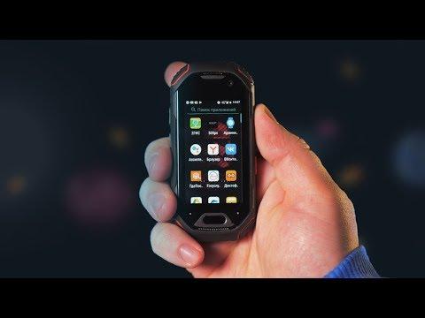 Самый мощный маленький смартфон - Atom.