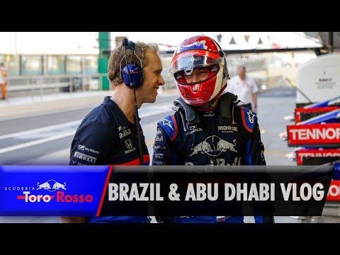 Daniil Kvyat's Brazil & Abu Dhabi GP Vlog