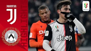 Juventus 4-0 Udinese | Dybala Bags A Brace As Juventus Beat Udinese | Round Of 16 | Coppa Italia