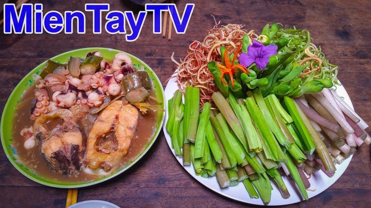 Mắm Kho Mon Ngon Miền Tay Miền Tay Tv Youtube