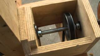 Shop Made 6x48 Belt/ Drum Sander.