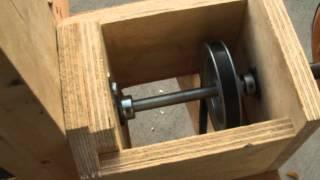 Shop Made 6x48 Belt/ Drum Sander.