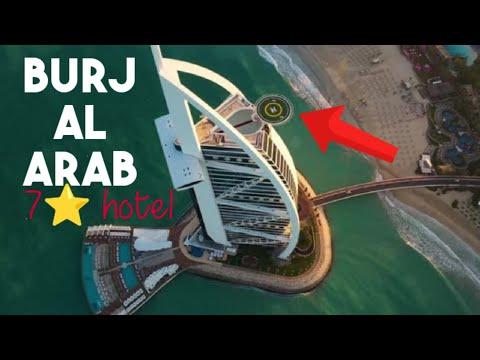 Helicopter Landing in Burj Al Arab | Hotel Burj Al Arab | Dubai 7 star hotel | Dubai richest hotels