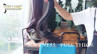 100% Beautiful human hair from bellishehair