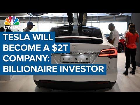 Tesla will become a $2 trillion company: Billionaire investor Ron Baron