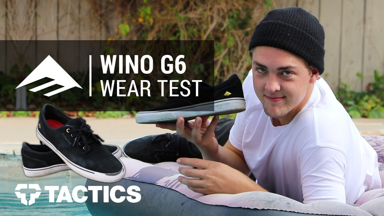 c50d228a509 Emerica Wino G6 Skate Shoes Wear Test Review With Dalton Dern ...