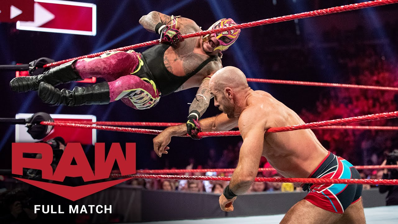 FULL MATCH - Ricochet vs. Cesaro vs.  Zayn vs. Andrade vs. Rey - Gauntlet Match: Raw, July 29, 2019
