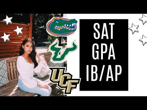 How I Got Into College   High School Stats (gpa, Sat/act, IB/AP)   UF, UCF + USF