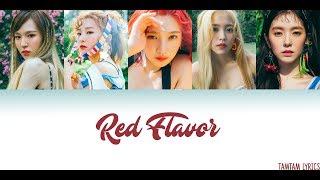 Video Red Flavor - Red Velvet Lyrics [Han,Rom,Eng] {Color/ Colour Coded} download MP3, 3GP, MP4, WEBM, AVI, FLV Januari 2018