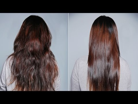 Frizz Free Hair Keratin Treatment On Natural Hair S Doovi