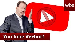 Gericht verbietet YouTuber YouTube – für 5 Jahre! | Rechtsanwalt Christian Solmecke