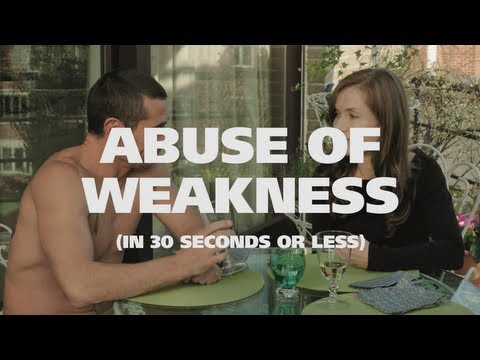 NYFF in 30 Seconds or Less: Abuse of Weakness Impressions