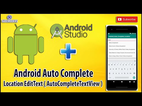 Android How An Edittext Work As Autocomplete Stack Overflow