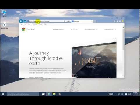 สอนการติดตั้ง Google Chrome ใน Windows