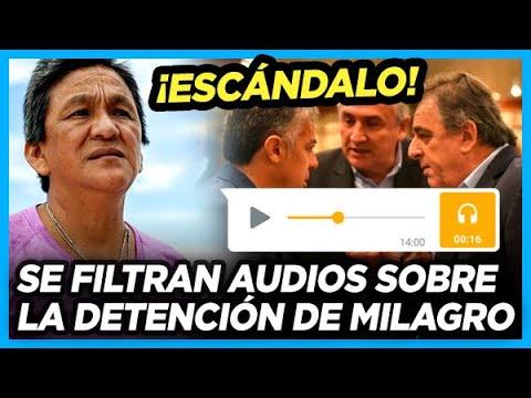 💥 ESCÁNDALO! Los audios del juez que confirma que Milagro Sala es una presa política de Morales