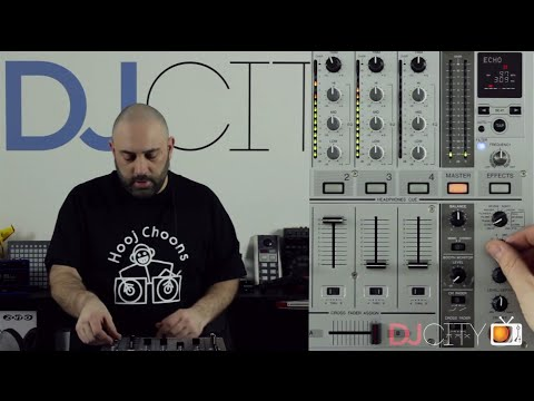 Quick Tips for Using Effects with Pioneer DJM Mixers