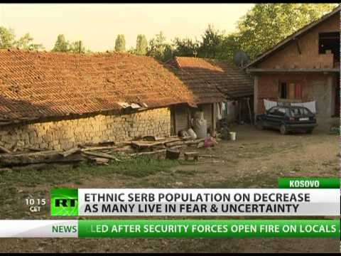 Fear and Exodus: Ethnic Serbs squeezed out of Kosovo