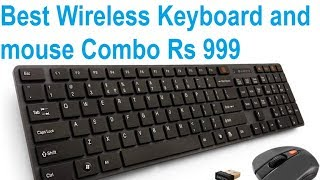 4b39eb194e9 Amkette Optimus Desktop Wireless Keyboard and Mouse Combo price in ...
