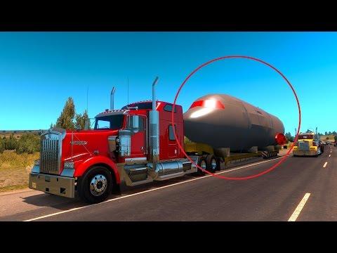American Dream #29 Transportando un avión!! American Truck Simulator
